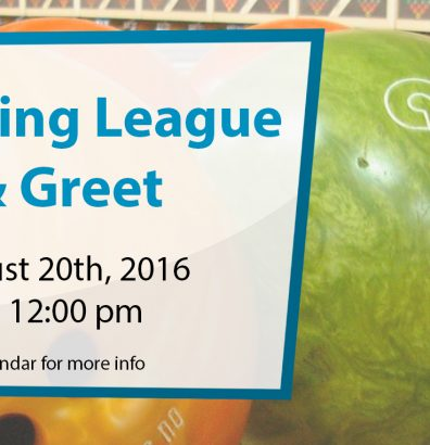 Youth Bowling League Meet & Greet