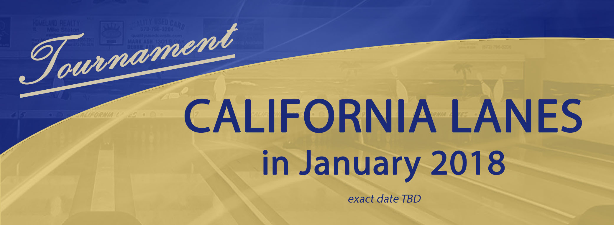 Tournament – California Lanes