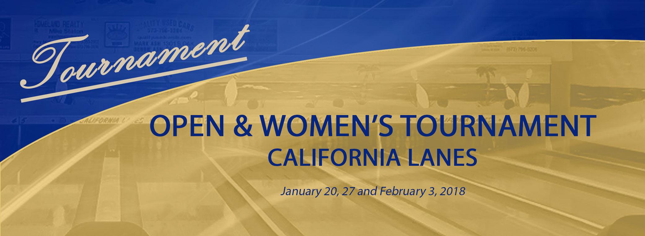 Tournament – California Lanes